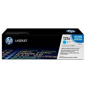 Tóner láser HP 125A cian CB541A para LaserJet Color CP1215/1515 y CM1312