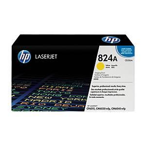 HP valec pre laserové tlačiarne 824A (CB386A) žltý