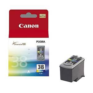 CANON tintasugaras nyomtató patron CL38 (2146B001) 3-szinű C/M/S