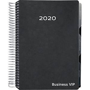 Kalender Mayland 2001 30, uge, 2020, A5, kunstlæder, sort