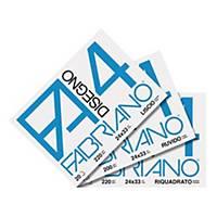 Album disegno Fabriano F4 ruvida 20 fogli 24x33 cm 200g/mq