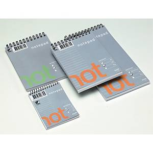 WIRE-O NOTEPADS PLAIN A6