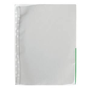 Signaalitasku A4 PP 120mic vihreä, 1 kpl=100 taskua