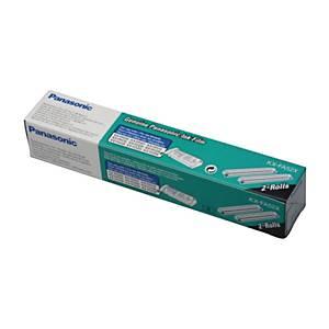 PANASONIC Ruban TTR noir KX-FA52X KX-FP205, emballage de 2 rouleaux