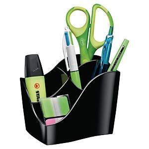 Cep Ellypse Green Spirit Stifteköcher, 4 Fächer, schwarz