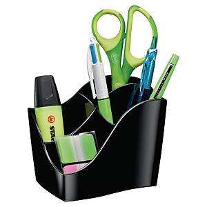 Cep Isis Green Spirit Pencil Cup 4 Compartments Graphite