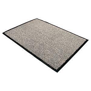 Doortex Dust Control deurmat voor binnen, 60 x 90 cm, grijs