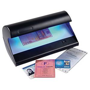 Détecteur Reskal LD25 pour faux billets, cartes de crédit, passeports, etc.