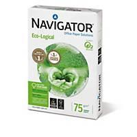 Kopierpapier Navigator Eco-Logical, A3, 75g, weiß, 500 Blatt