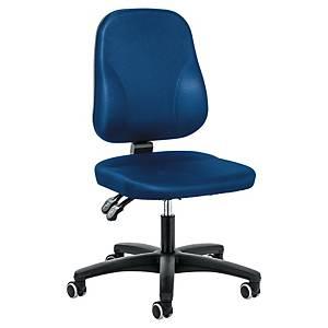 Chaise de bureau Prosedia Younico 0101, Baseline, dossier bas, bleu