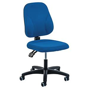 Bürostuhl Prosedia Younico 0101, Baseline, mittelhohe Rückenlehne, blau