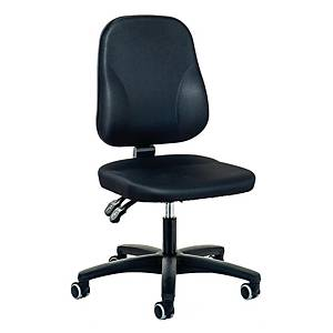 Bürostuhl Prosedia Younico 0101, Baseline, mittelhohe Rückenlehne, schwarz