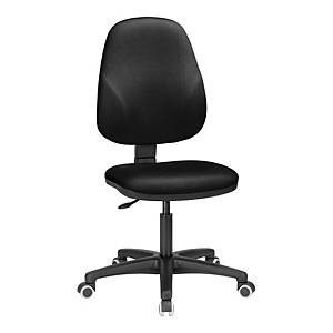 INTERSTUHLBASELINE PERM H/BACK CHAIR BLK