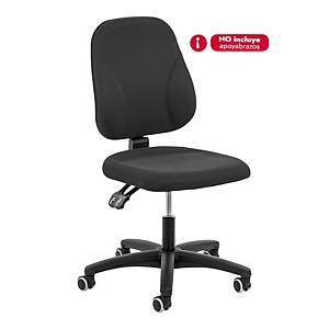 INTERSTUHL BASELINE PERMANENT CONTACT CHAIR MEDIUM BACK BLACK