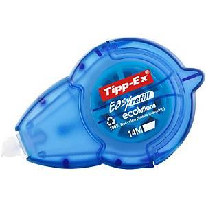 Tipp-Ex® Ecolutions™ Easy Refill navulbare correctieroller, 5mm x 14m, per stuk