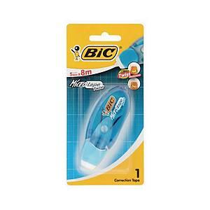 BIC เทปลบคำผิด MICRO TAPE TWIST 5มม. x 8ม.