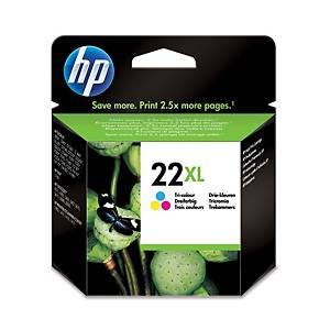 Hewlett Packard 22Xl C9352Ce Inkjet Cartridge Psc 1410 Colour