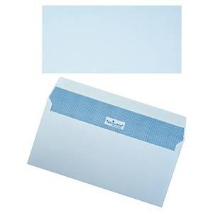 Navigator enveloppen, EA5/6, siliconenstrook, wit, 110x220 mm, per 500 omslagen