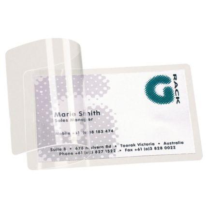 Paquet 100 Pochettes Pour Plastification A Froid Sans Machine 3l 66x100mm