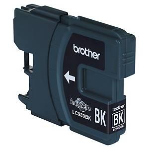 Cartouche d encre Brother LC980BK - noire