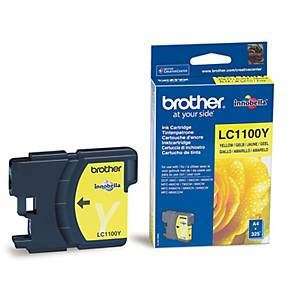 Brother LC-1100Y cartouche jet d encre jaune [325 pages]