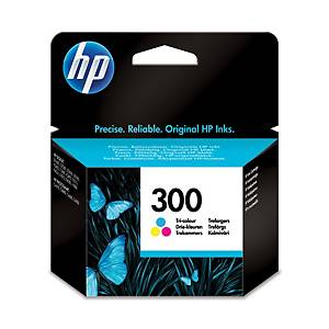 Hewlett Packard 300 Cc643Ee Inkjet Cartridge 3 Colour