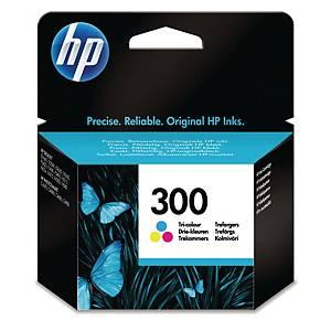 HP 300 Tri-Colour Original Ink Cartridge (CC643EE)