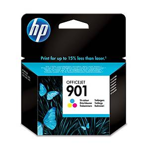 Hewlett Packard 901 Cc656Ae Inkjet Cartridge Officejet 3 Colour