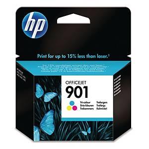 HP 901 Tri-Colour Original Ink Cartridge (CC656AE)