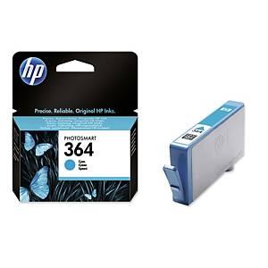 Tintenpatrone HP CB318EE - 364, Reichweite: 300 Seiten, cyan