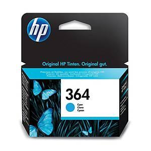 Hewlett Packard 364 Cb318Ee Inkjet Cartridge Cyan