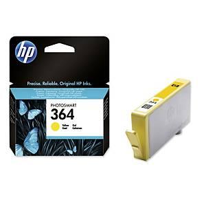 Tintenpatrone HP CB320EE - 364, Reichweite: 300 Seiten, gelb