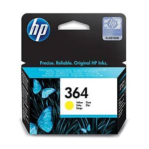 Hewlett Packard 364 Cb320Ee Inkjet Cartridge Yellow