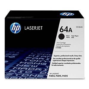 Cartouche toner HP 64A (CC364A), noire