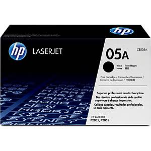 HP 05A (CE505A) toner cartridge, zwart