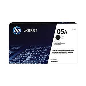 HP toner lézernyomtatókhoz 05A (CE505A) fekete