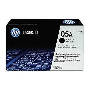 HP CE505A LaserJet Toner Cartridge (05A) - Black