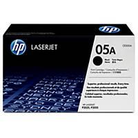 Toner laser HP 05A - CE505A - preto