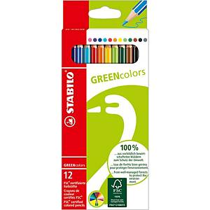 Stabilo FSC Pencils Assorted - Box of 12