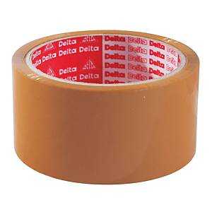 DELTA OPP Packaging Tape Acrylic Adhesive Size 2  X 45 Yards Core 3  Brown