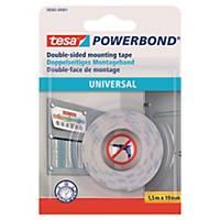Monteringstape Tesa Powerbond, 19 mm x 1,5 m