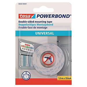 Fita de espuma de dupla face Tesa Powerbond - 19mm x 1,5m