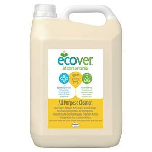 Universalrengöringsmedel Ecover, miljövänligt, citrondoft, 5L