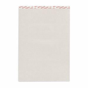 Bloc-notes Elco A4, 65 g/m2, 4 mm à carreaux, 100% recyclé, 100 feuilles