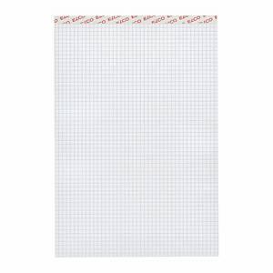 Bloc-notes Elco A4, 80 g/m2, 5 mm à carreaux, 100 feuilles