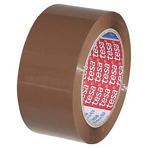 Ruban adhésif d emballage Tesa 57167 - 50 mm x 100 m - havane - lot de 6
