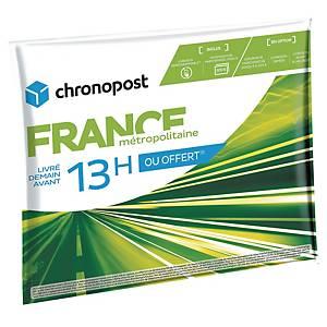 Enveloppe Chronopost Chrono 13h - 2 kg - lot de 20
