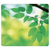 Tapis de souris Fellowes Earth series - caoutchouc recyclé - motif feuilles