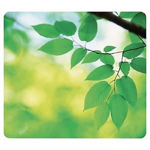 Tapis de souris à thème ultra fin Fellowes, feuilles