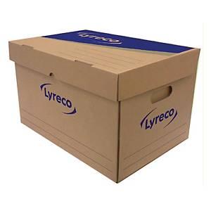LYRECO Paper Storage Box 40X35X32cm - Pack of 2
